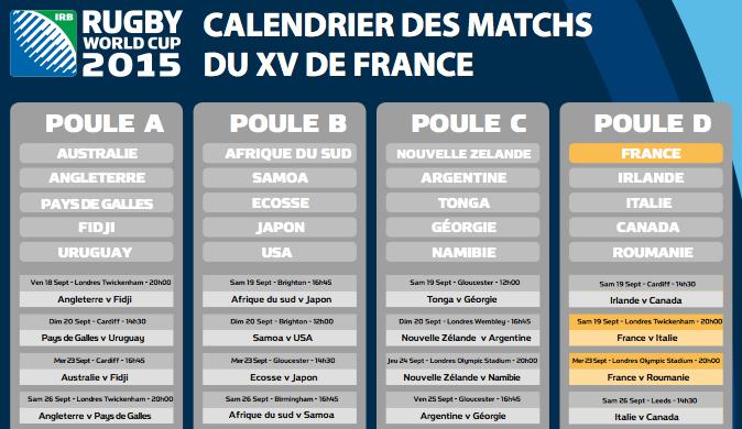 Pdf coupe du monde rugby 2015 calendrier pdf mondial 2015 - Programme coupe du monde de handball 2015 ...